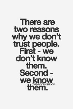 Trust - true dat
