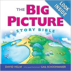The Big Picture Story Bible (Book with CD): David R. Helm: 9781433523915: Amazon.com: Books
