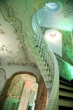 staircase, canal house, 17th century (House of Amsterdam event centre) Herengracht 168, Amsterdam, The Netherlands