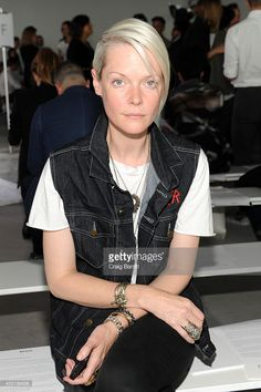 Kate Lanphear attends the Boss fashion show during Mercedes-Benz Fashion Week Spring 2015 on September 10, 2014 in New York City.