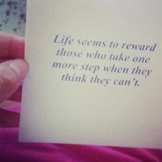 Quote of life. My grandpa gave this to me. Instagram: @megustaeline_