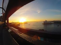 Sunrise over Sydney Harbour  Submitted by: @gcnelson  09/07/2012