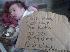 poor baby - lol