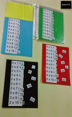 Násobení a dělení 1 – 10 Math Games, Math Activities, Math Coach, Montessori Math, Primary Maths, Multiplication Facts, Third Grade Math, Math For Kids, School Lessons