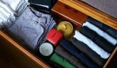 Fold Your Clothes Efficiently for More Drawer and Suitcase Space