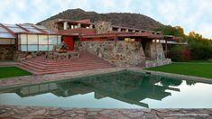 Taliesin West...Frank Lloyd Wright's home in Arizona