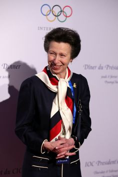 February 9, 2018 ~ HRH Princess Anne, Princess Royal