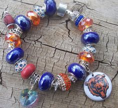 Bears+European+Charm+Bracelet+by+pattistone+on+Etsy,+$35.00