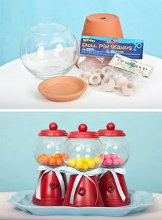 Diy lollies jars