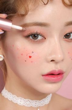Buy beige chuu Periwinkle Pearl Powder - 3 Colors - Make Up Females Makeup Inspo, Makeup Inspiration, Makeup Tips, Eye Makeup, Peach Makeup Look, Makeup Looks, Makeup Remover, Makeup Brushes, Korean Make Up
