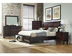 merlot queen panel storage complete bedroom set queen storage bed dresser mirror chest and 1 night stand