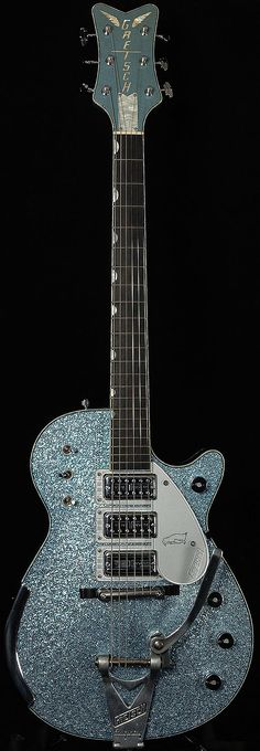 Gretsch Masterbuilt 1959 Penguin Relic Aged Ice Blue Metallic Sparkle (2017)