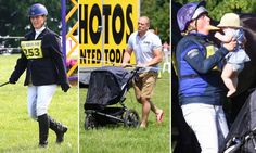 Zara Phillips bonds with baby daughter Mia and husband Mike Tindall