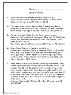 math worksheet : math words word problems and math word problems on pinterest : 4th Grade Math Word Problems Worksheet