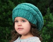 Knitting Pattern - The Ariella Slouchy (Baby, Toddler, Child, Adult sizes)