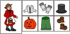 This scarecrow story is becoming one of our family's favorites! For those unfamiliar with the book… a little old lady is returning home only to find parts of a scarecrow following her! It's darling! One of my favorite sites, Making Learning Fun, has a whole section on teaching ideas for this fun Halloween story. We …