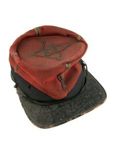 French Zouave Officer's Kepi Worn In The Crimean War British Army Uniform, Crimean War, Age Of Empires, Military Units, Tsar Nicholas, Kingdom Of Great Britain, French Empire, Imperial Russia, Napoleonic Wars