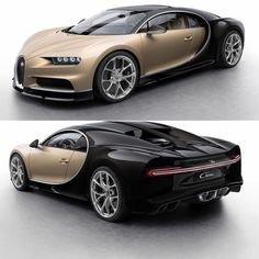 The Bugatti Chiron has a mind-boggling 8 liter engine with a rated output of nearly 1500 horsepower and pound-feet of torque. Bugatti Cars, Classy Cars, Bugatti Chiron, Mustang Cars, Car In The World, Future Car, Exotic Cars, Luxury Cars, Cool Cars