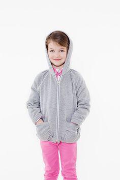 Kostenloses Schnittmuster für ein Kapuzen- Sweatshirt