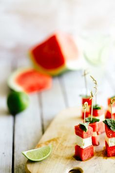 Watermelon & Feta Cheese Bites