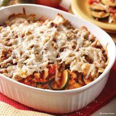 6 Delicious Gooseberry Patch Zucchini Recipes: Italian Zucchini Casserole.