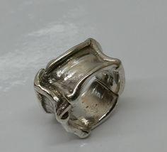 Vintage Ringe - Nostalgischer Ring Silber 835 Handarbeit rar SR601 - ein Designerstück von Atelier-Regina bei DaWanda