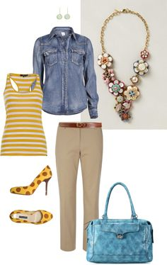 """""""Statement Necklace with pattern mix"""" by xiaozhi on Polyvore"""