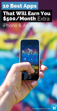 We use phones every day. Instead of playing games or browsing the web, try making money off of it with these apps! Enjoy! www.howtoliveinth...
