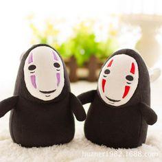 Spirited Away No Face Ghost Kaonashi 15cm Plush Doll Anime