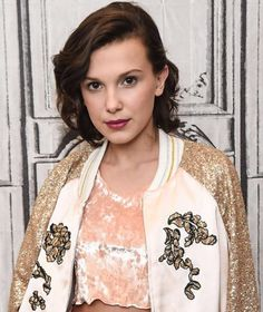 """Millie Bobby Brown is teaming up with Pandora on a jewelry collection, and it sounds like the line will make a perfect holiday gift for """"Stranger Things"""" fans. Stranger Things Quote, Bobby Brown Stranger Things, Stranger Things Aesthetic, Millie Bobby Brown, Time Magazine, Divas, Prince Charmant, New Pandora, Pandora Jewelry"""