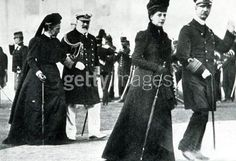 1896 Olympic Games, Athens, Greece, King George of Greece and Princess Alexandra walk in front of the Prince of Wales and Queen Olga (Photo by Popperfoto/Getty Images) 1896 Olympics, British Crown Jewels, Greek Royal Family, Greece Pictures, Grand Duchess Olga, Princess Alexandra, Athens Greece, Summer Olympics, King George