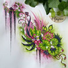 Johanna Basford's Magical Jungle - Lilly Pad w/ Frog