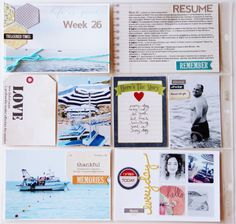 Projec Life - week 29 by lory at @Studio_Calico