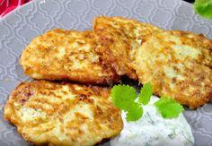 Przepis na placki z cukinii. Szybki pomysł na obiad - o2 - Serce Internetu Tzatziki, Mozzarella, Meat, Chicken, Food, Essen, Meals, Yemek, Eten