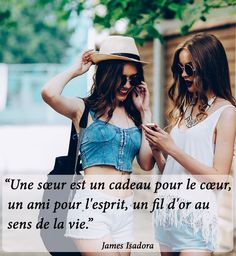 Bff, French Phrases, Girls Life, My Sister, Great Quotes, Work Hard, Cool Hairstyles, Best Friends, Sisters