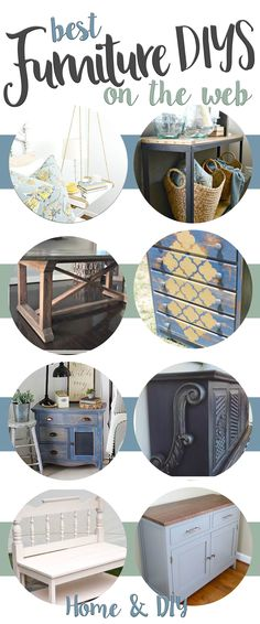 Furniture DIYs. Do It Yourself Furniture Projects. Painting Furniture, free furniture plans. A collection of the best Furniture DIYs on the web from top bloggers all in one place!
