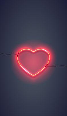 I wallpaper, neon light wallpaper, heart iphone wallpaper, rose gold wallpa Wallpaper Telephone, Emoji Wallpaper, Heart Wallpaper, Cute Wallpaper Backgrounds, Tumblr Wallpaper, Wallpaper Iphone Cute, Love Wallpaper, Pretty Wallpapers, Galaxy Wallpaper