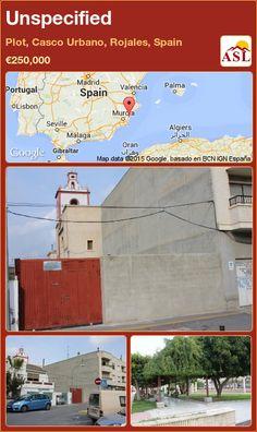Unspecified in Plot, Casco Urbano, Rojales, Spain ►€250,000 #PropertyForSaleInSpain
