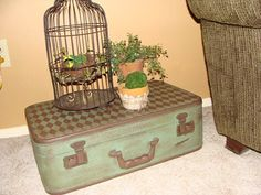 Cherished Treasures: Tuesday Treasure - Vintage Suitcases