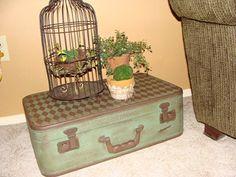 Cherished Treasures: Tuesday Treasure - Vintage Suitcases