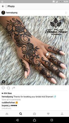 Tattoo Ideen Frauen - henna fish tattoo, very unique tattoos, different. Henna Tatoos, Small Henna Tattoos, Small Girl Tattoos, Henna Tattoo Designs, Unique Tattoos, Body Art Tattoos, Tattoos For Guys, Tattoo Small, Henna Art