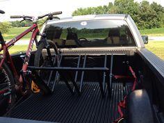 Easy homemade Pvc rack for truck