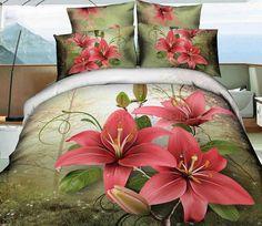 Precious Retro Flower Print 3D Bedding Sets 3D Bedding Sets