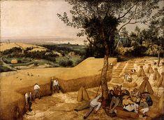 The Harvesters by Pieter Brueghel the Elder.