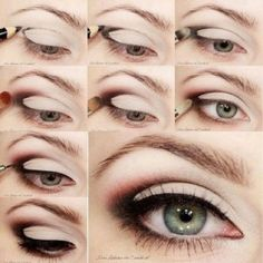 DIY Augen Make-up mit Adele Look