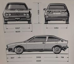 Alfasud Sprint, Alfa Romeo, Fiat, Cars And Motorcycles, Automobile, Stickers, Motorbikes, Car, Motor Car