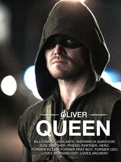 #Arrow - #OliverQueen