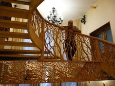 лестницы --- Russian for Stairway.