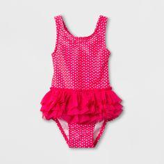 284f2d44db Toddler Girls' Rainbow Print One Piece Swimsuit - Cat & Jack Blue 5T ...