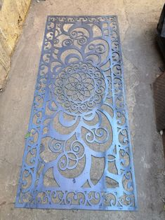 Cnc Cutting Design, Metal Screen, Cnc Projects, Cnc Plasma, Decoration, Bohemian Rug, Stencils, Stairs, Rugs
